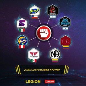 Legion Championship Equipos Finalistas