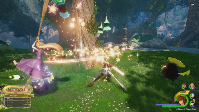 Tangled Kingdom Hearts 3