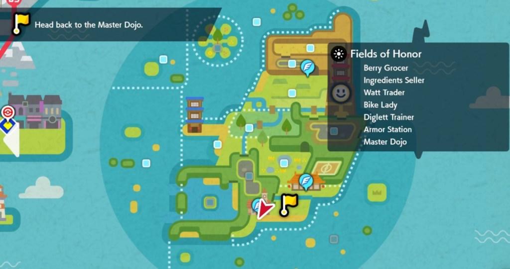 Pokemon Isla de la Armadura