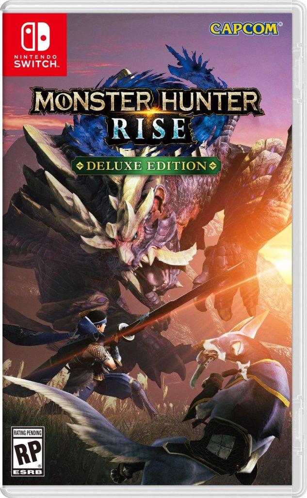 Monster Hunter Rise portada de juego