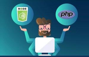 nodejs vs php