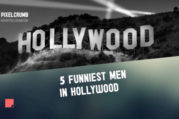 5 FUNNIEST MEN IN HOLLWOOD