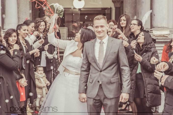 Eine Standesamtliche Trauung in Köln am historischen Rathaus in Köln, Pixeldreams Hochzeitsfotografie Köln