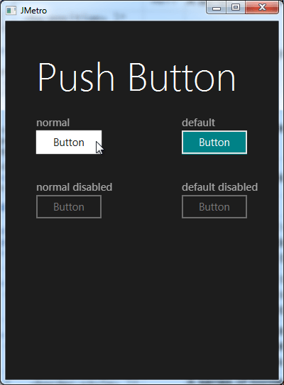 pushButton darkTheme(button pressed)