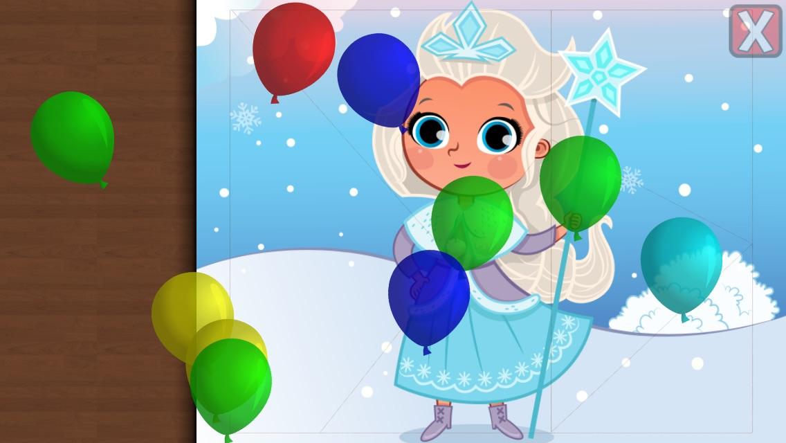 Balloon Cartoon Dropping