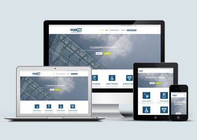 Fresh New Website for CleanPro Sydney