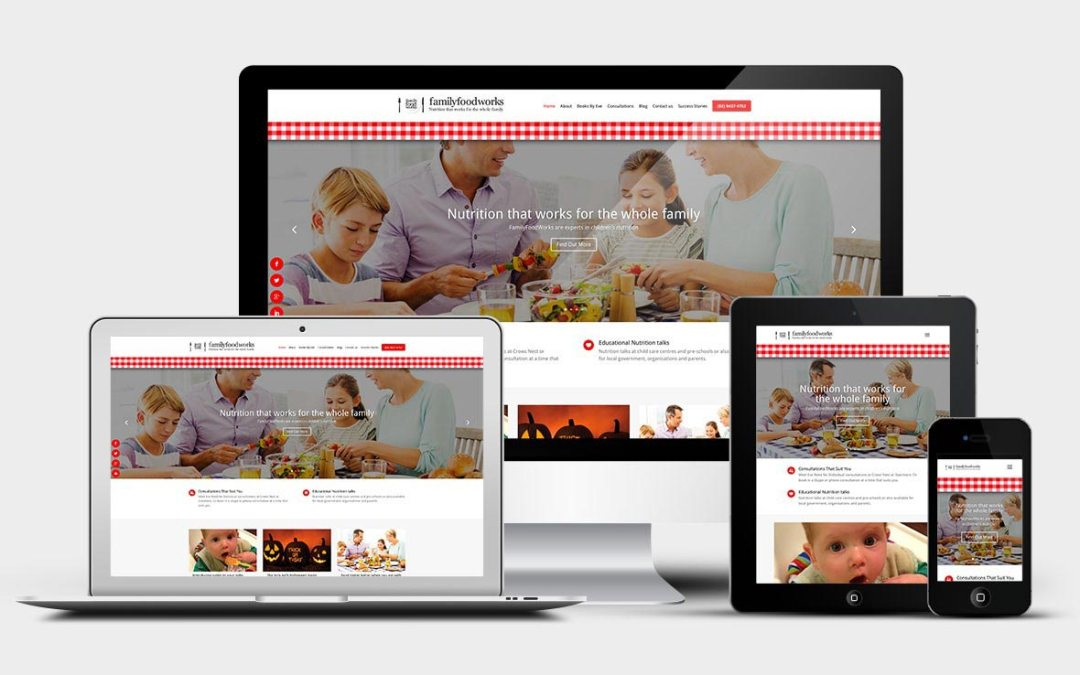 Family Food Works gets a delicious website refresh