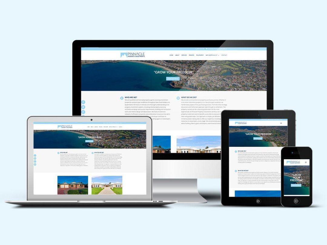 Pinnacle Property Builds Online Presence