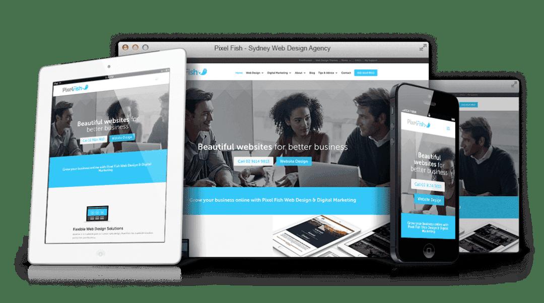 100% Mobile Responsive - Pixel Fish Web Design Tips tips for online success