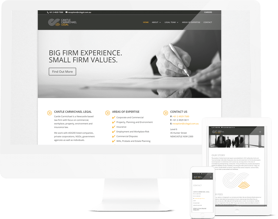Legal Firm Web Design