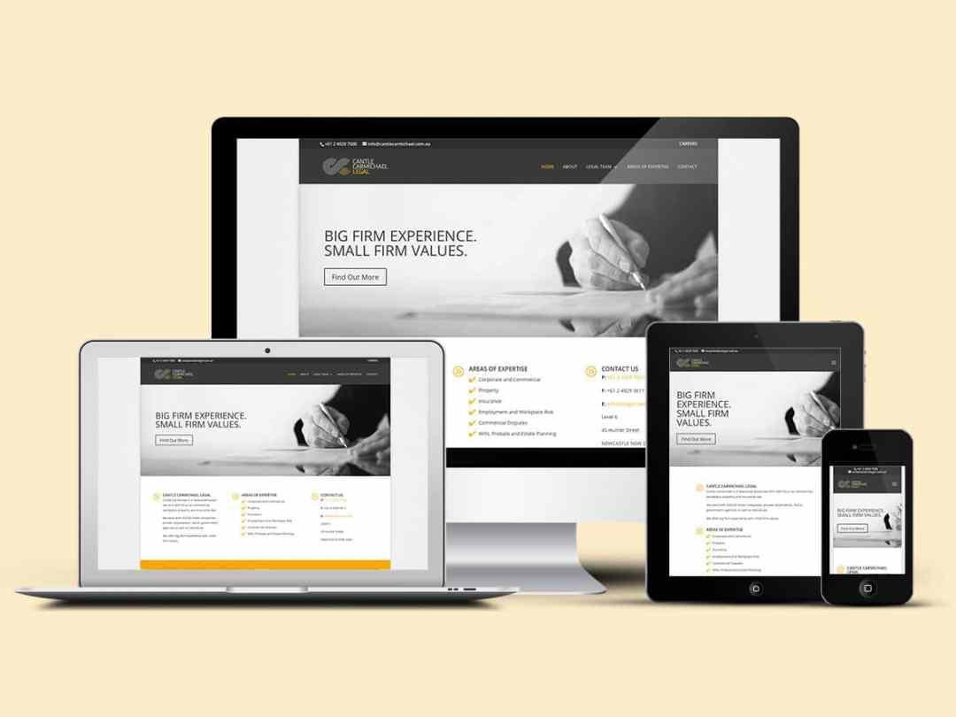 Cantle Carmichael Legal gets a modern new site!