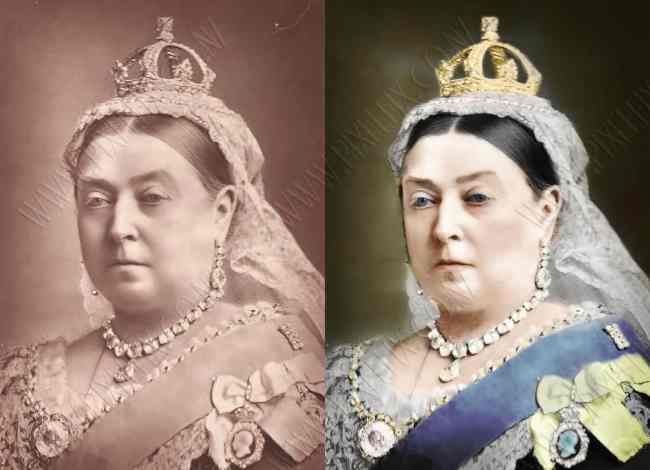 colourized photo restoration