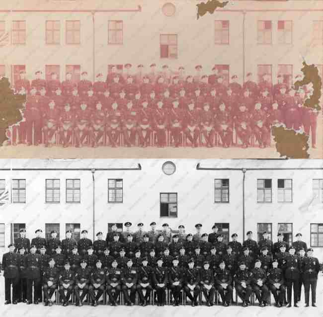 Army Photo Restoration