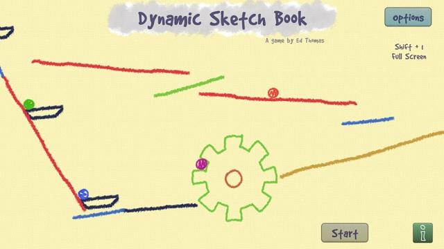 Dynamic Sketch Book