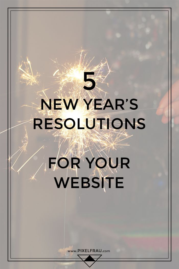 new year's resolutions website