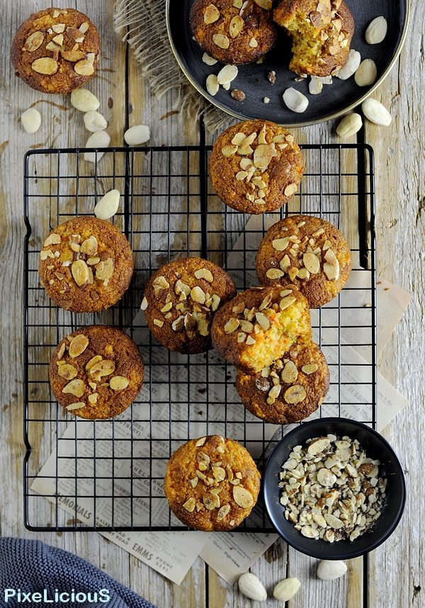 muffins dolci alla carota