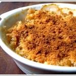 Crumble (dolce) di Susine Gialle