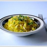 Tagliolini al Limone con Prezzemolo e Pinoli
