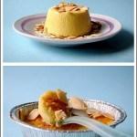 Budini Salati al Gorgonzola con Mandorle