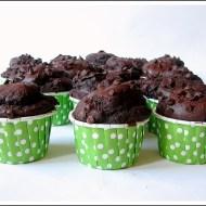 Mini Muffins al Triplo Cioccolato