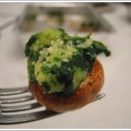 Champignon Ripieni di Spinaci e Mascarpone