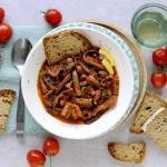 Zuppetta di Moscardini al Pomodoro