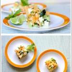 Tartara di Melone e Feta con Cetriolo, Lime e Menta Fresca