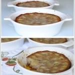 Clafoutis di Uva Bianca con Farina di Castagne