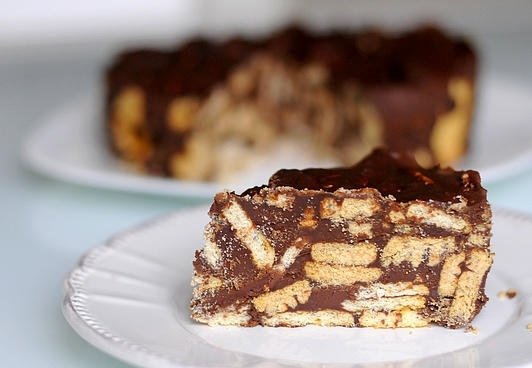 Chocolate Biscuit Cake (English)