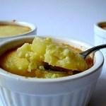 Mini-Clafoutis di Ananas al Cocco