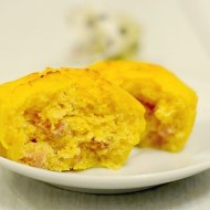 Muffins Salati alla Zucca con Stracchino e Pancetta