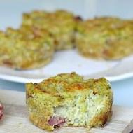Tortini di Ricotta con Broccoli e Salame Piacentino DOP
