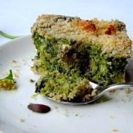 Tortino di Cime di Rapa, Ricotta Salata e Olive