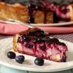 Heidelbeer-Käsekuchen: Crostata al Formaggio Tedesca ai Mirtilli