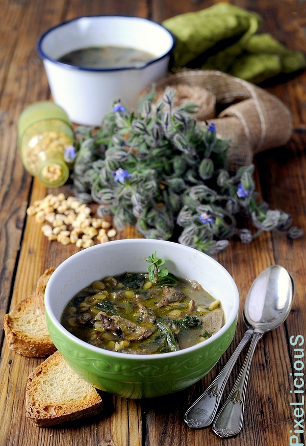 zuppa cicerchie porcini borragine 2 72dpi