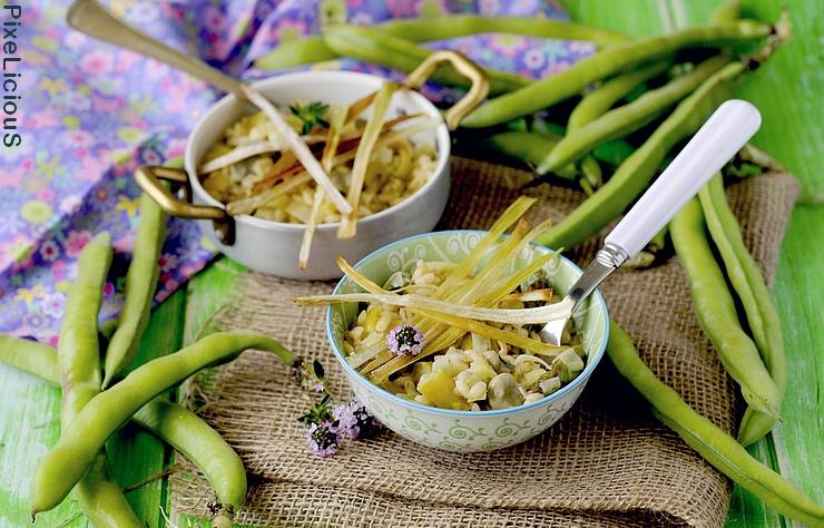 orzotto asparagi porri e fave 1 72dpi
