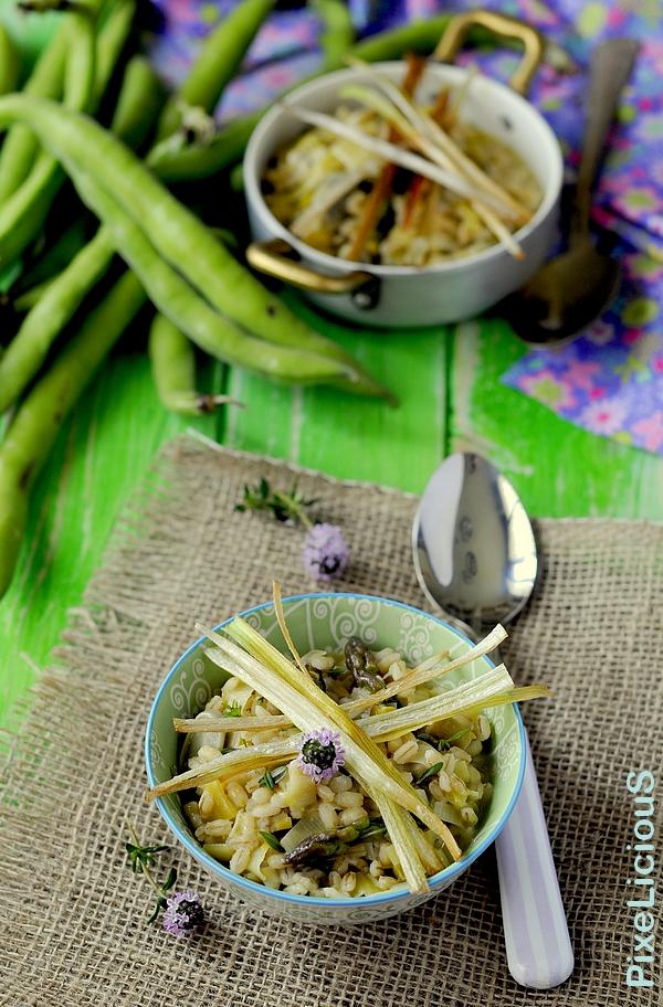 orzotto asparagi porri e fave 2 72dpi