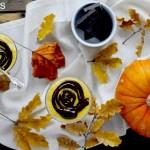 Crema Fredda alla Zucca Variegata al Cioccolato Fondente