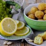 Polpette di Broccolo Romanesco, Limone e Mandorle