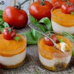 Cheesecake Salati ai Pomodori di Pachino