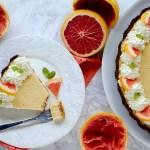 Pink Grapefruit Pie