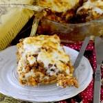 Lasagne con Ragù di Lenticchie Verdi e Salsiccia