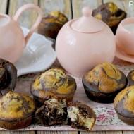 Muffins allo Yogurt Variegati al Cacao
