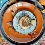 Panna Cotta alla Zucca e Cioccolato Fondente (Senza Gelatina)