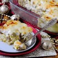 Lasagne con Porri, Salsiccia e Robiola