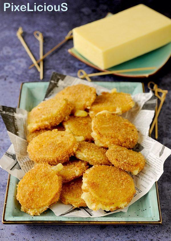 Patate in Carrozza con Cuore Filante di Cheddar