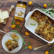 Parmigiana di Zucchine con Datterino Giallo e Provola Affumicata