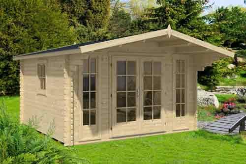 Bausätze sind für Gartenhäuser empfehlenswerte Kompromisslösungen