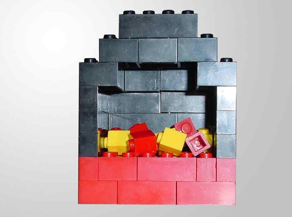 Bauanleitung für einen Kaminofen