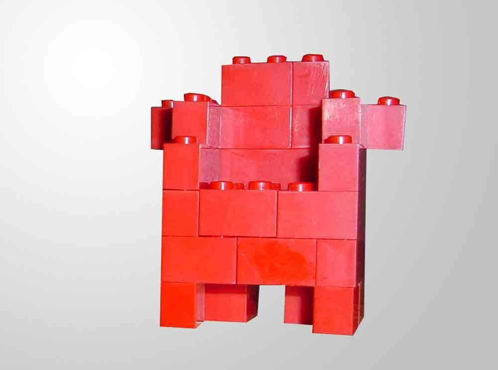 Bauanleitung für einen Lego-Sessel